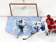 Eric Staal and James Reimer