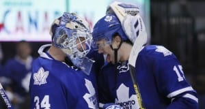 James Reimer and P.A. Parenteau