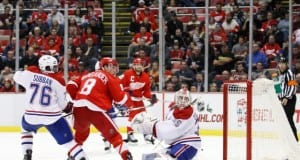 Detroit Red Wings and Montreal Canadiens