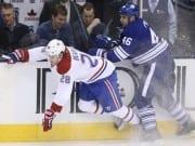 Roman Polak against the Montreal Canadiens
