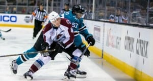Tyson Barrie of the Colorado Avalanche