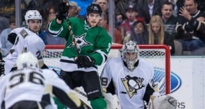 Tyler Seguin and Marc-Andre Fleury
