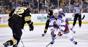 Dan Boyle against the Boston Bruins