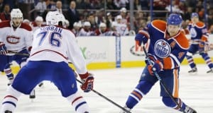 Taylor Hall of the Edmonton Oilers and P.K. Subban of the Montreal Canadiens