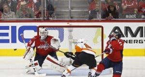 Braden Holtby and Brooks Orpik
