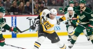 Pittsburgh Penguins Sidney Crosby against the Minnesota Wild