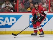 Eirk Karlsson of the Ottawa Senators