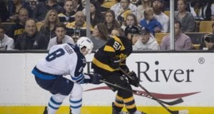 The Boston Bruins have inquired again about Winnipeg Jets defenseman Jacob Trouba