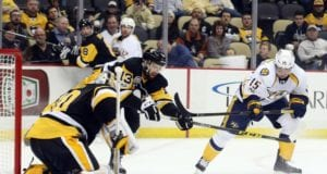 Pittsburgh Penguins and Nashville Predators