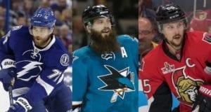 2017 Norris Trophy Candidates - Erik Karlsson, Brent Burns and Victor Hedman