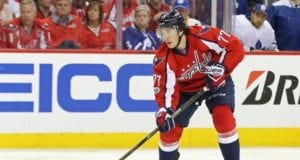The Washington Capitals re-signed T.J. Oshie to a eight-year deal