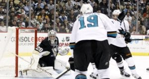 Marc-Andre Fleury and Joe Thornton