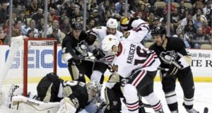 Pittsburgh Penguins and Chicago Blackhawks