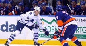 The Toronto Maple Leafs are one of the teams in on Travis Hamonic