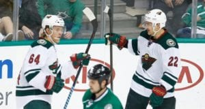 Minnesota Wild forwards and RFAs Mikael Granlund and Nino Niederreiter
