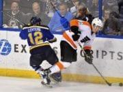 The Philadelphia Flyers trade Brayden Schenn to the St. Louis Blues for Jori Lehtera and two first round draft picks