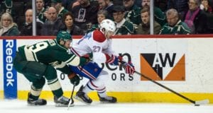 The Montreal Canadiens and Minnesota Wild discussed Alex Galchenyuk before the expansion trade freeze