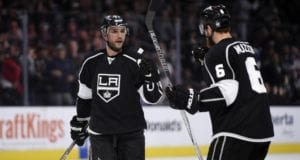 The Los Angeles Kings considering moving Alec Martinez or Jake Muzzin for a top-six forward