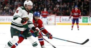 The Montreal Canadiens have shown interest in Minnesota Wild defenseman Marco Scandella