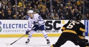 Is the Toronto Maple Leafs interest in Colin Miller more media driven?