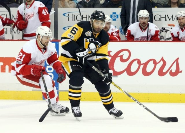 The Detroit Red Wings are interested in Trevor Daley