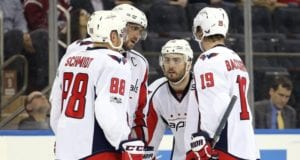 Nate Schmidt and Kevin Shattenkirk