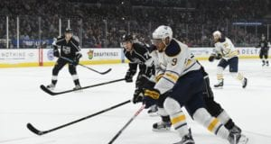 The Los Angeles Kings are one of the teams that has shown interest in Evander Kane