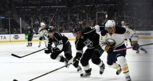 The Los Angeles Kings could be one of the teams interested in Buffalo Sabres Evander Kane