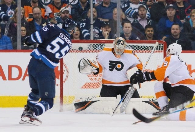 The Winnipeg Jets have significant interest in Steve Mason