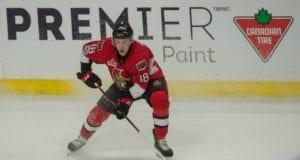 Ryan Dzingel of the Ottawa Senators
