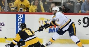 The Pittsburgh Penguins re-sign Brian Dumoulin and the Nashville Predators re-sign Austin Watson
