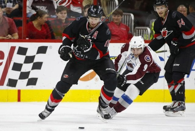 The Carolina Hurricanes could be after Matt Duchene