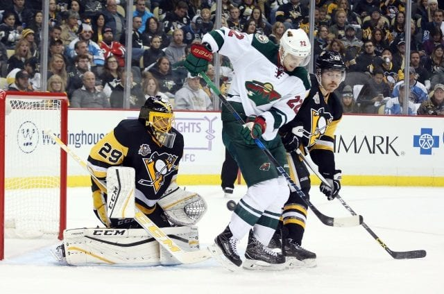 The Minnesota Wild re-sign Nino Niederreiter ... The Pittsburgh Penguins re-sign Conor Sheary