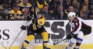 The Boston Bruins were one of the teams involved in Matt Duchene trade talks