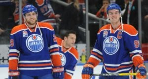 Leon Draisaitl and Connor McDavid