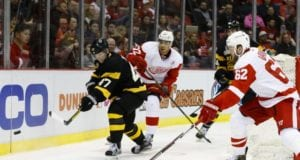 The Detroit Red Wings continue to talk with UFA Thomas Vanek and need to re-sign Andreas Athanasiou