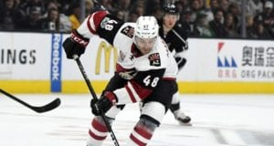 The Arizona Coyotes and Jordan Martinook could be a close on a deal