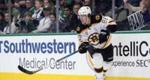 "Boston Bruins GM Don Sweeney said ""We're in a holding pattern"" with regards to a new contract for restricted free agent winger David Pastrnak"