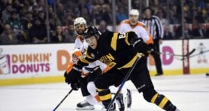 David Pastrnak of the Boston Bruins