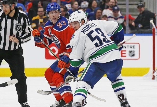 Bo Horvat and Ryan Nugent-Hopkins