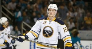 Jack Eichel of the Buffalo Sabres