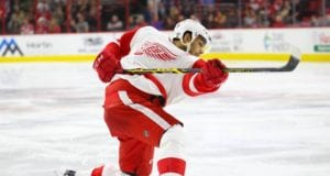 Detroit Red Wings RFA Andreas Athanasiou has a KHL offer