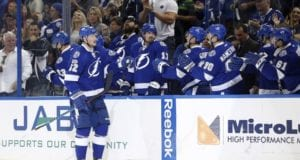 Andrej Sustr could be on the outside looking in on the Tampa Bay Lightning's blue line