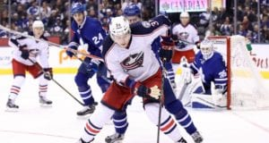 Josh Anderson and the Blue Jackets don't appear to be close