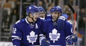 Toronto Maple Leafs center Tyler Bozak