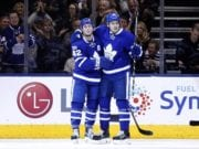 Tyler Bozak and James van Riemsdyk