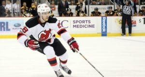 Damon Severson of the New Jersey Devils