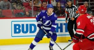 The Tampa Bay Lightning could look to move a defenseman, as they are carrying eight to start the season