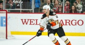 The Anaheim Ducks have lost Kevin Bieksa with a hand injury