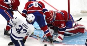 The Toronto Maple Leafs could use Josh Leivo in a trade package